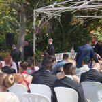 Ceremonia civil en jardín La Concepción Marbella. Español Sueco. Wedding ceremony in Marbella in Swedish and Spanish F07