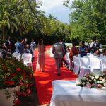 Ceremonia civil en jardín La Concepción Marbella. Español Sueco. Wedding ceremony in Marbella in Swedish and Spanish F04
